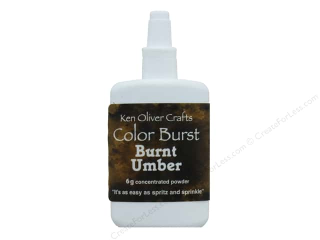 Contact Crafts Ken Oliver Color Burst 6gm Burnt Umber