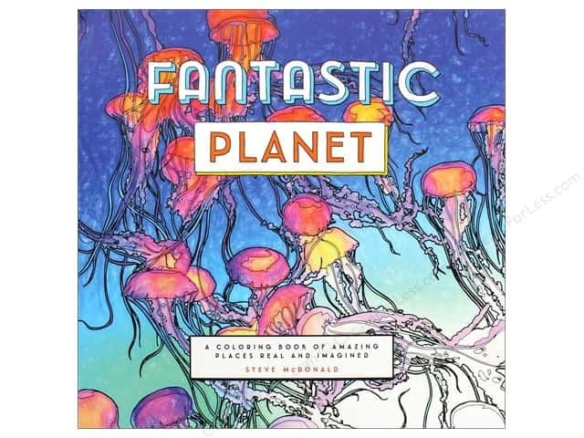 Chronicle Fantastic Planet Coloring Book