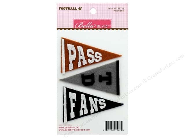 Bella Blvd Football Pennants