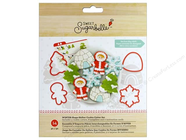 American Crafts Collection Sweet Sugarbelle Cookie Cutter Set Winter