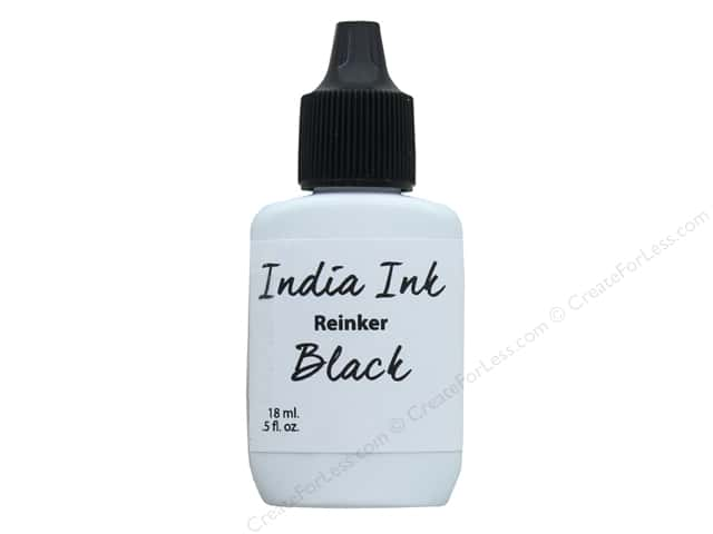 Contact Crafts Ken Oliver India Ink Reinker .5 oz Black