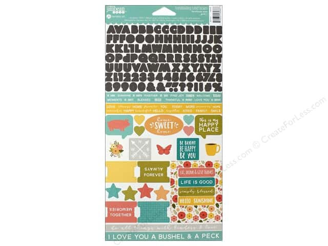 Jillibean Soup Collection Farmhouse Stew Sticker Coordinating