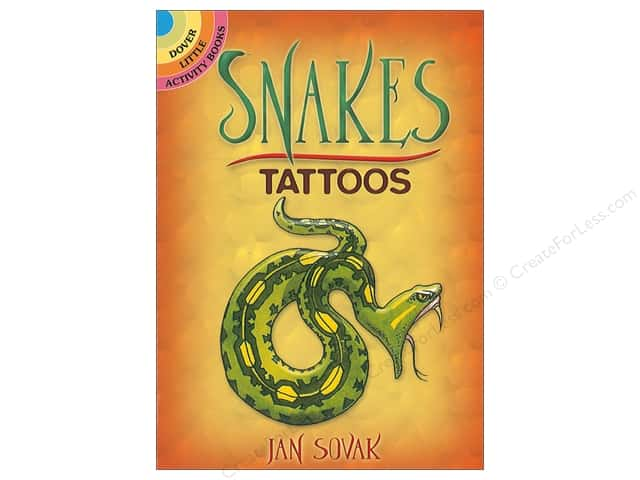 Dover Publications Little Snakes Tattoos Book
