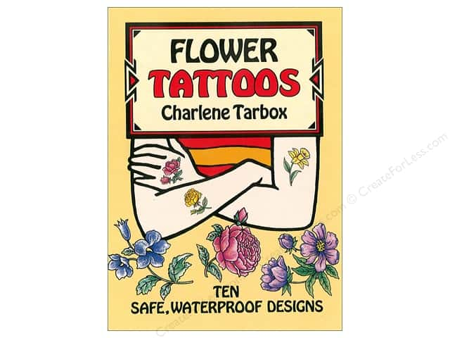 Dover Publications Little Flower Tattoos Book