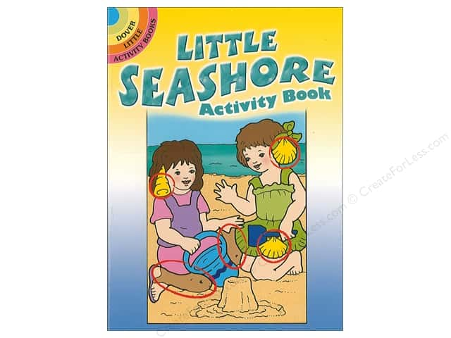 Dover Publications Little Seashore Activity Book