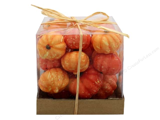 Sierra Pacific Crafts Decor Filler Tiny Pumpkins In Box Orange