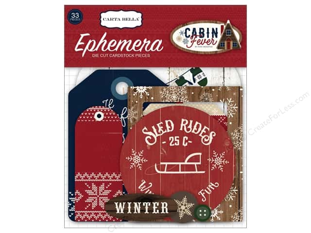 Carta Bella Collection Cabin Fever Ephemera