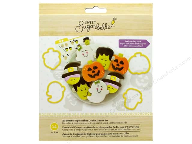 American Crafts Collection Sweet Sugarbelle Cookie Cutter Set Autumn