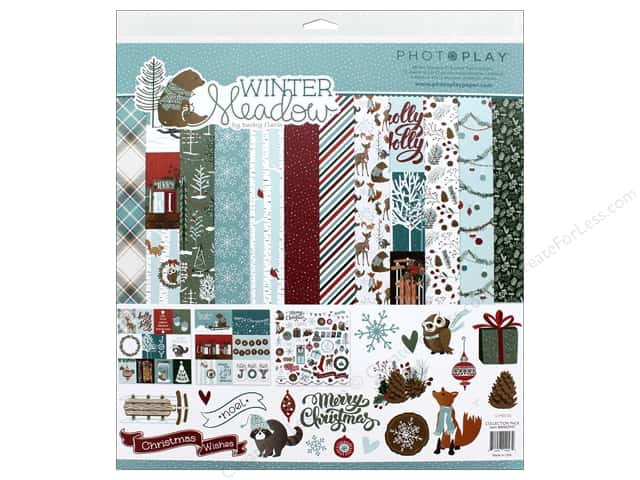 Photo Play Collection Winter Meadow Collection Pack 12 in. x 12 in.