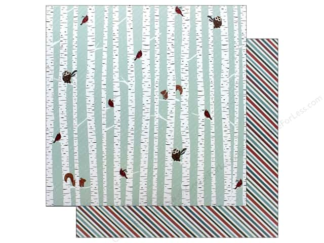 Photo Play Collection Winter Meadow Paper 12 in. x 12 in. Winter Friend (25 pieces)