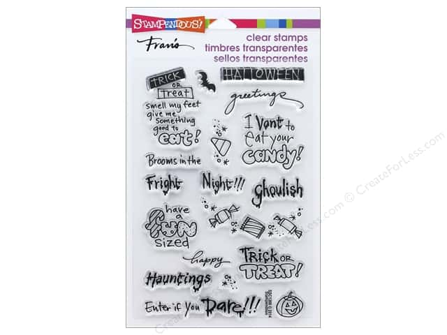 Stampendous Clear Stamp Tricky Words