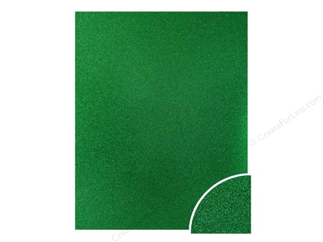 Paper Accents Glitter Cardstock 22 x 28 in. #G06 Green (10 pieces)