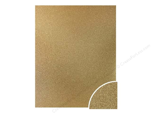 Paper Accents Glitter Cardstock 22 x 28 in. #G10 Gold (10 pieces)