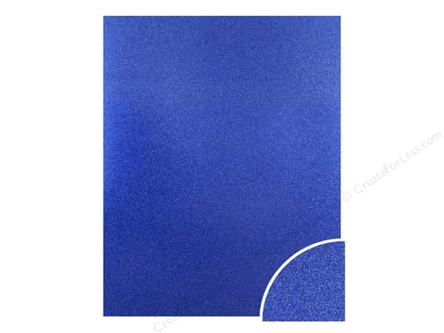 Paper Accents Glitter Cardstock 22 x 28 in. #G07 Jewel Blue (10 pieces)