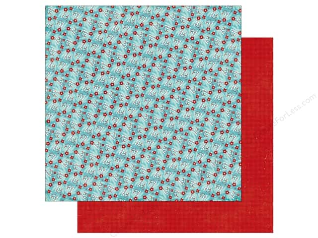 Echo Park A Perfect Winter Paper 12 in. x 12 in. Winter Berries (25 pieces)