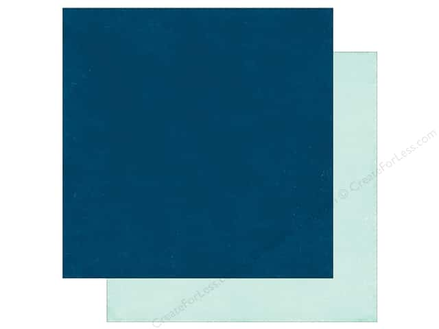 Echo Park A Perfect Winter Paper 12 in. x 12 in. Dk. Blue/Ice Blue (25 pieces)