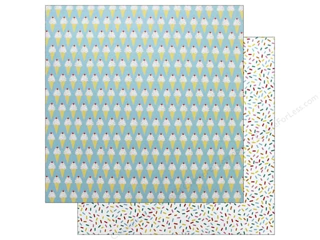Pebbles Happy Hooray Paper 12 in. x 12 in. Sprinkles On Top (25 pieces)