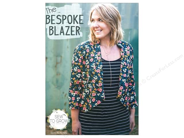 Sew To Grow Bespoke Blazer Size XS-4XL Pattern