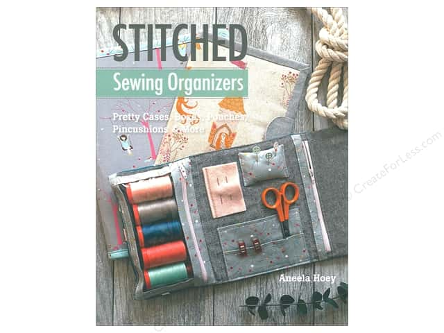 Stash By C&T Books Stitched Sewing Organizers Book