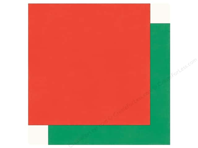 Echo Park Happy Birthday Boy Paper 12 in. x 12 in. Red/Green (25 pieces)