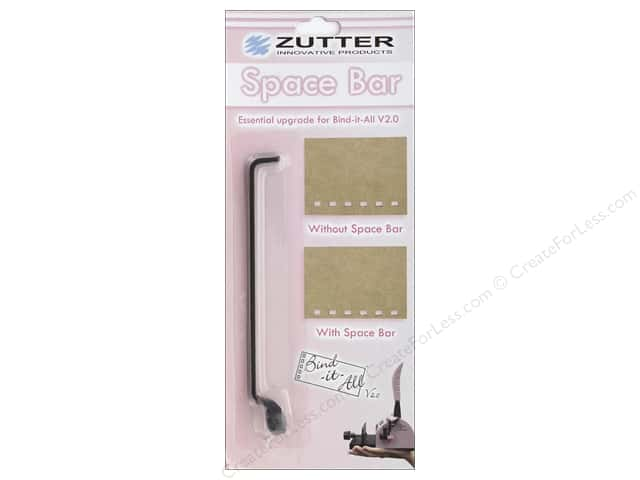 Zutter Tools Bind It All 2.0 Space Bar Upgrade
