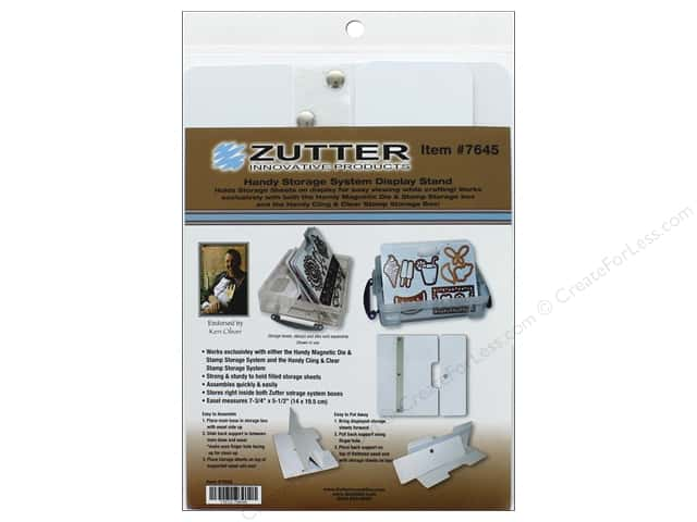 Zutter Storage Display Stand Magnetic Die & Stamp Small