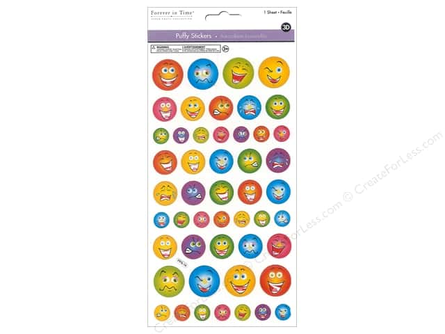 Multicraft Sticker 3D Puffy Emoji