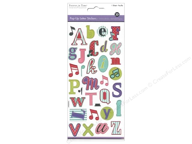 Multicraft Sticker 3D Pop Up Alpha Melody