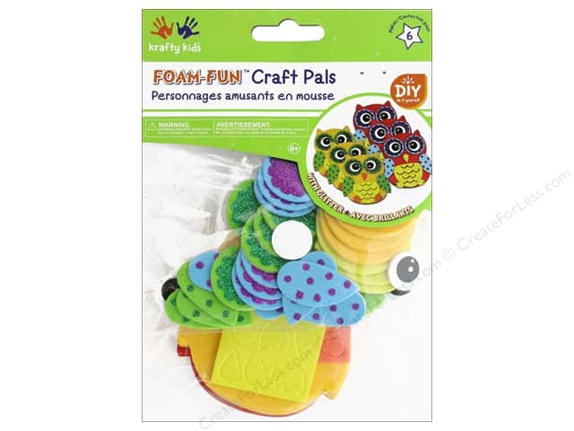 Multicraft Krafty Kids DIY Kit Foam Pal Hootie Hoo