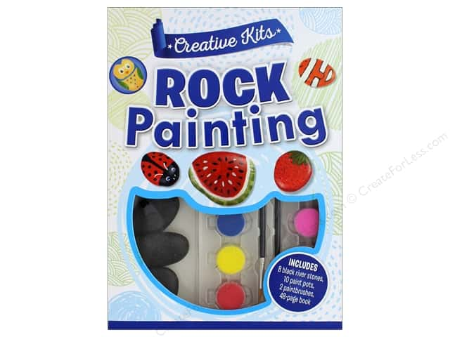 Silver Dolphin Creative Kit Rock Painting