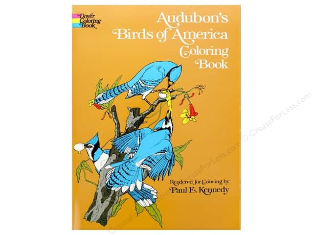 Dover Publications Audubon's Birds Of America Coloring Book