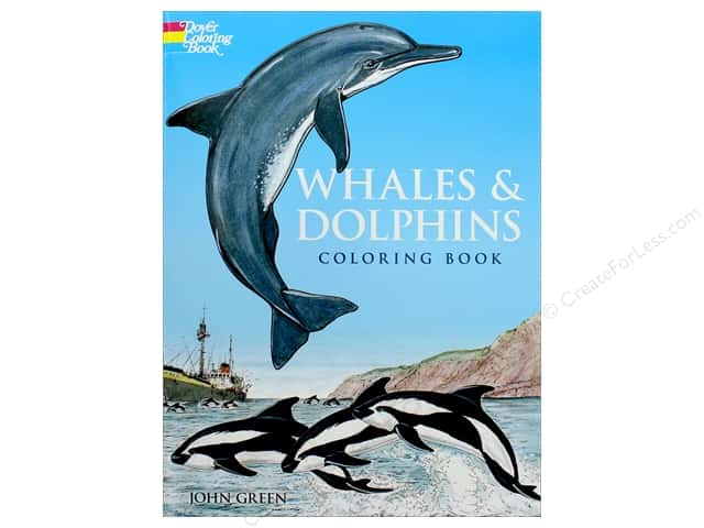 Dover Publications Whales & Dolphins Coloring Book