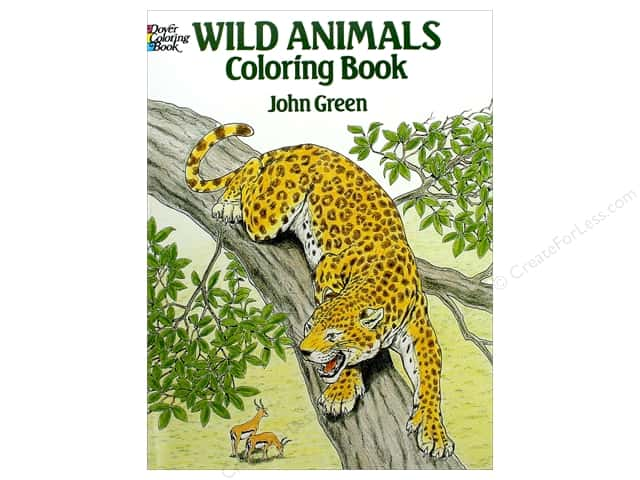 Dover Publications Wild Animals Coloring Book