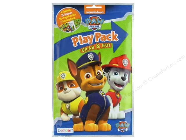 Bendon Coloring Play Pack Paw Patrol Book