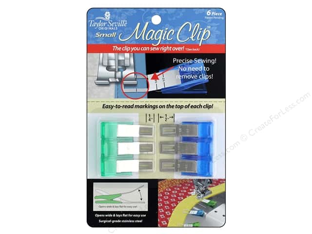 Taylor Seville Magic Clip Small 6 pc