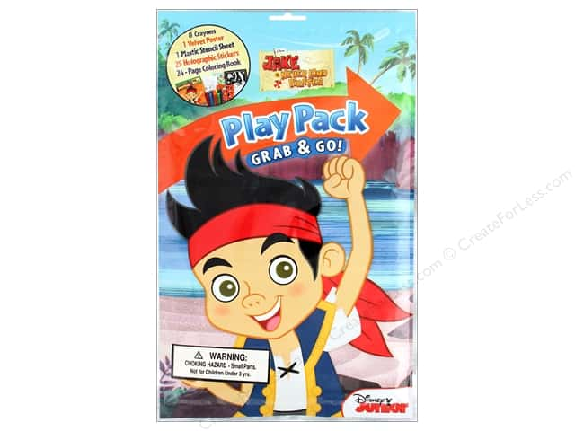 Bendon Coloring Play Pack Disney Jake Book