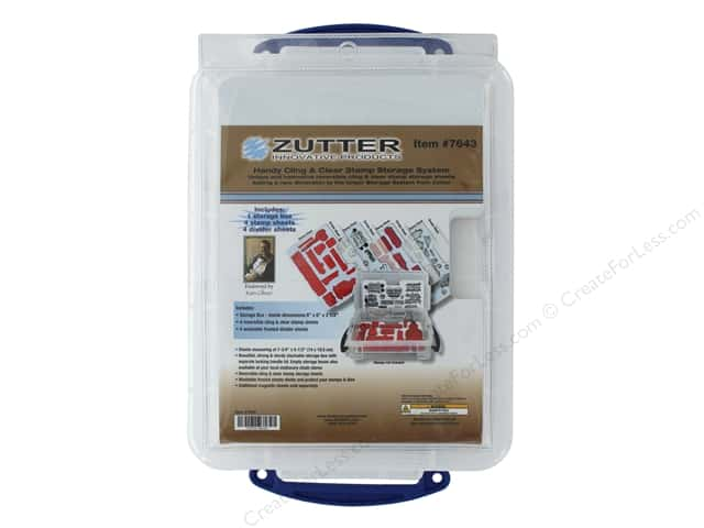 Zutter Storage System Set Cling & Clear Stamp Small