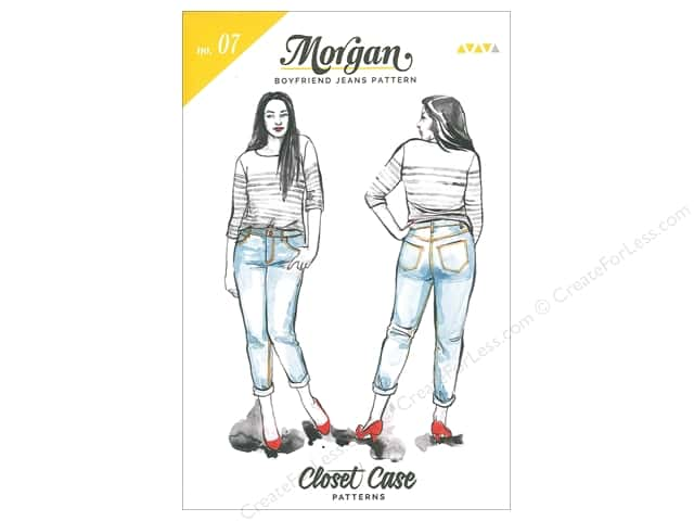 Closet Case Morgan Boyfriend Jeans Pattern