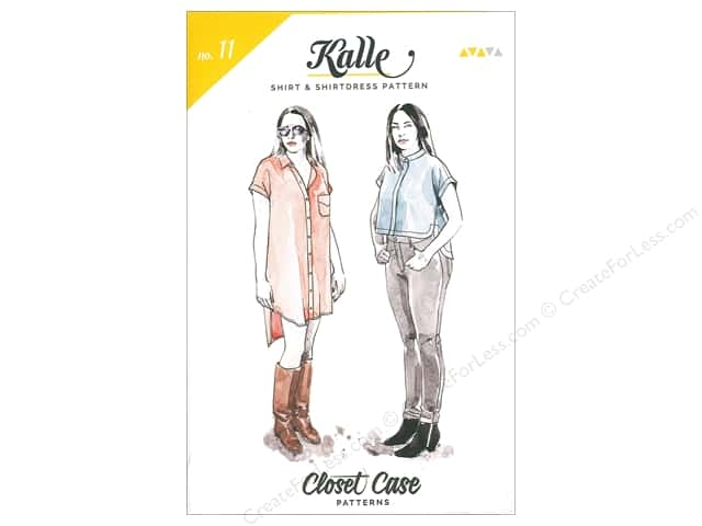 Closet Case Kalle Shirt & Dress Pattern