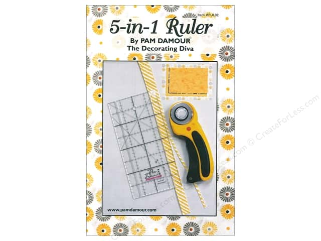 Pam Damour 5 In 1 Ruler