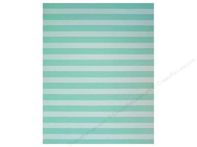 American Crafts Poster Shop Poster Board 22 in. x 28 in. Stripes Mint
