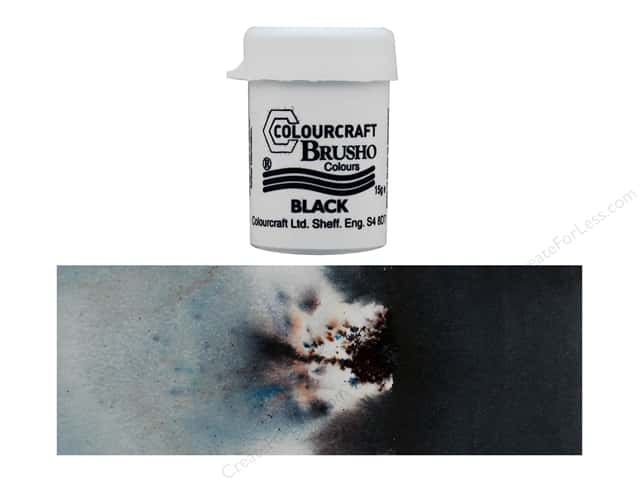 Colourcraft Brusho Crystal Colours - Black 15 gr.