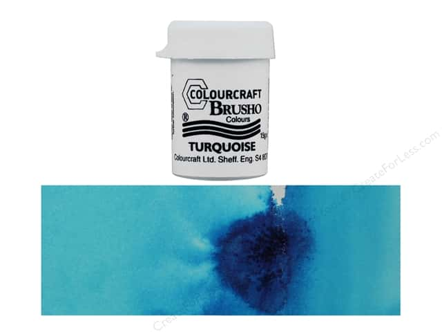 Colourcraft Brusho Crystal Colour 15 gr Turquoise