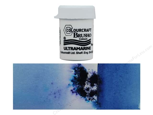 Colourcraft Brusho Crystal Colour 15 gr Ultramarine
