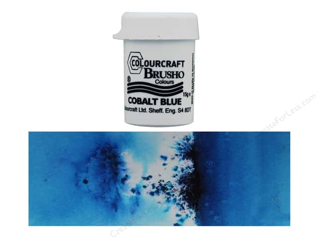 Colourcraft Brusho Crystal Colours - Cobalt Blue 15 gr.