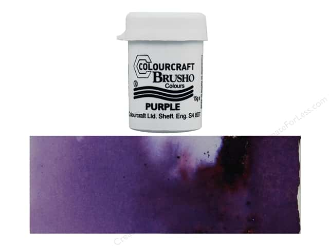 Colourcraft Brusho Crystal Colour 15 gr Purple