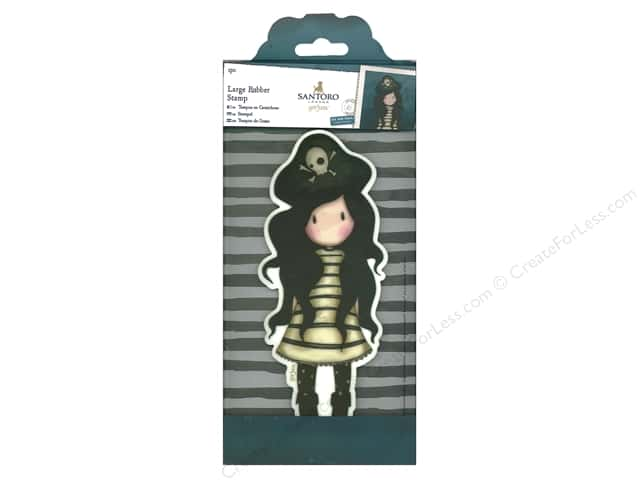 Docrafts Santoro Gorjuss Stamp Large Piracy