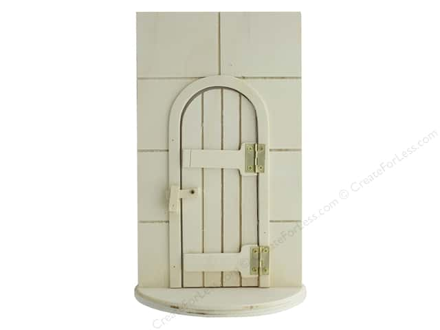 Darice Wood Fairy Door 5.5 in. x 9.6 in.