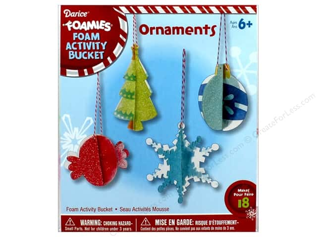 Darice Foamies Activity Bucket Ornaments