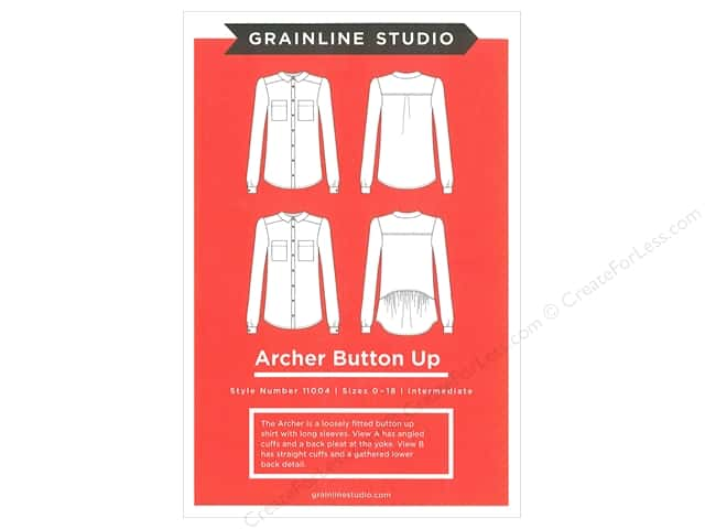 GrainLine Studio Archer Button Up Pattern